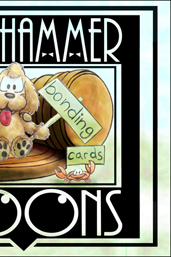 Tough Hammer Cartoons social bonding cards